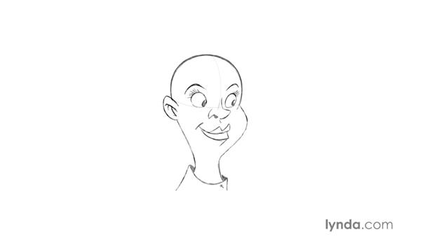 Drawing cartoony mouths: Foundations of Drawing Cartoon Characters for Animation