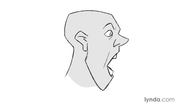 Drawing realistic and stylized mouths: Foundations of Drawing Cartoon Characters for Animation