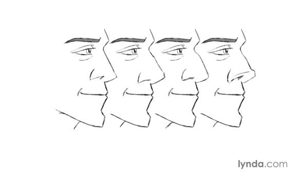 Drawing the nose: Foundations of Drawing Cartoon Characters for Animation