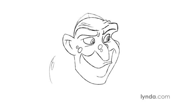Adding details to build character in a drawing: Foundations of Drawing Cartoon Characters for Animation