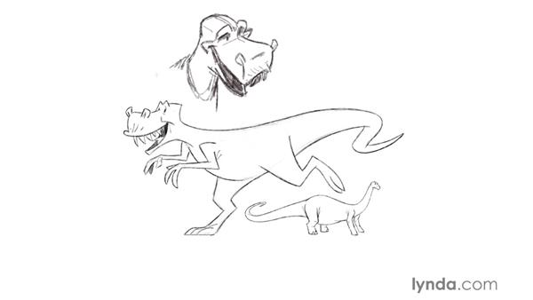 Drawing creatures: Foundations of Drawing Cartoon Characters for Animation
