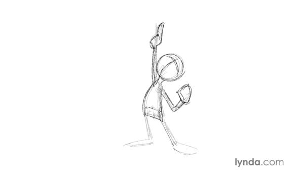 Starting with a rough construction: Foundations of Drawing Cartoon Characters for Animation