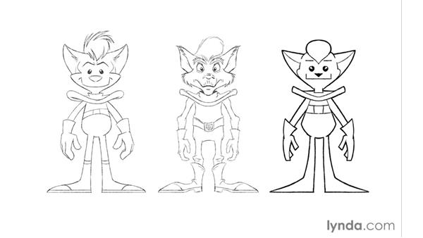 Advice on drawing in different styles: Foundations of Drawing Cartoon Characters for Animation