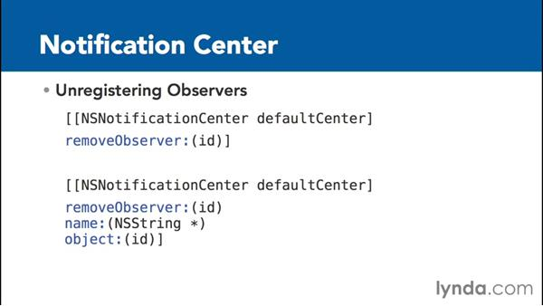 What is the Notification Center?: Communicating between Classes with Objective-C