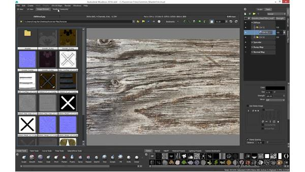 Understanding the user interface: Mudbox 2016 Essential Training