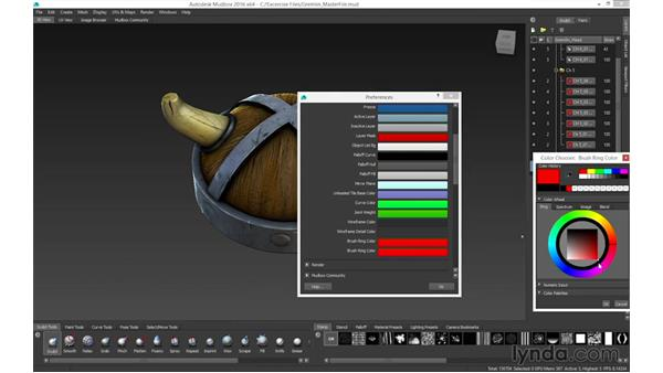 Viewport navigation: Mudbox 2016 Essential Training
