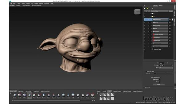 Asymmetry: Mudbox 2016 Essential Training