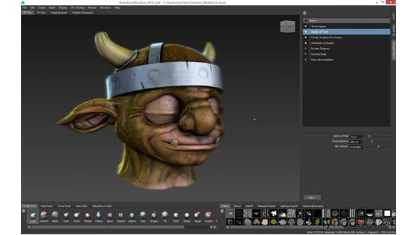 Exporting your models: Mudbox 2016 Essential Training