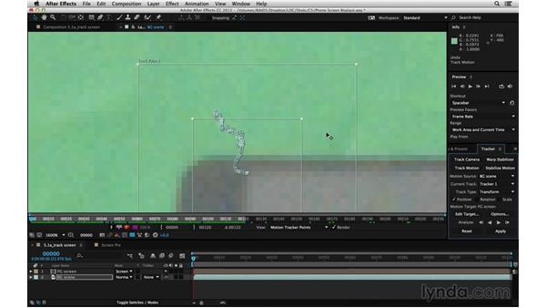 Effectively track motion: After Effects Compositing 06: Tracking and Stabilization