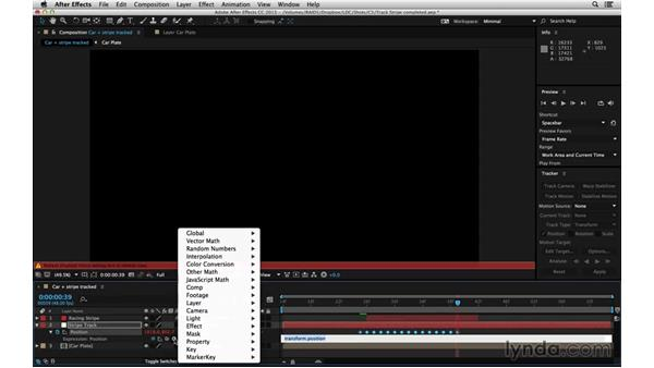 Continue motion offscreen: After Effects Compositing 06: Tracking and Stabilization