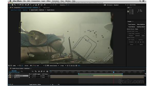 Recognize trackable points: After Effects Compositing 06: Tracking and Stabilization