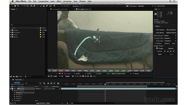 Plan for a track to be interrupted: After Effects Compositing 06: Tracking and Stabilization