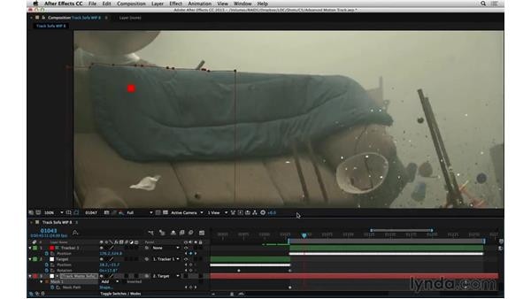 Solve problems with nulls and parenting: After Effects Compositing 06: Tracking and Stabilization