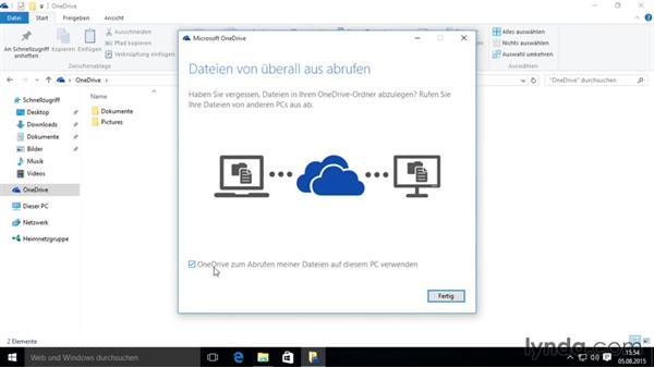 OneDrive in Windows 8 einrichten und nutzen