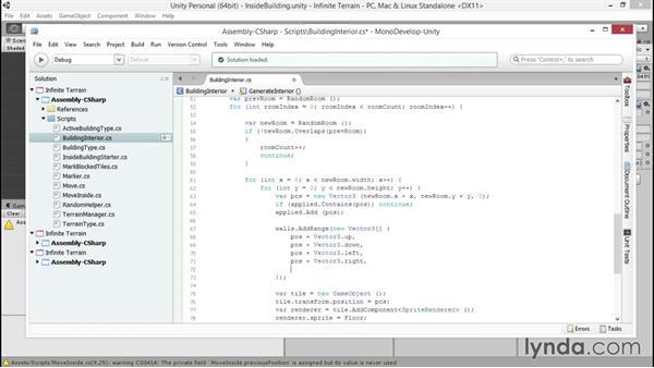 Adding walls: Unity 5 2D: Generate Procedural Terrain