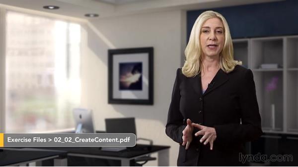 Create content: Lead Generation Fundamentals