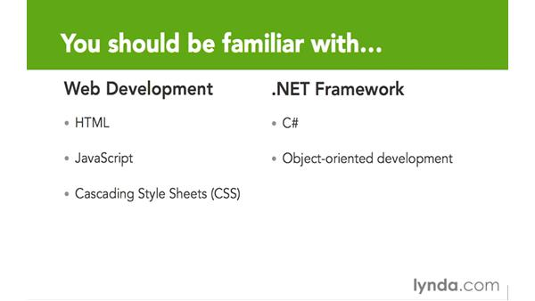 What you should know before watching this course: Up and Running with ASP.NET 5