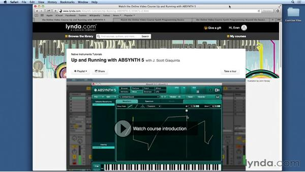 What you should know before watching this course: Synthesis and Sampling with ABSYNTH