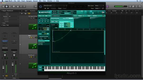 Alternate oscillator modes and tuning: Synthesis and Sampling with ABSYNTH