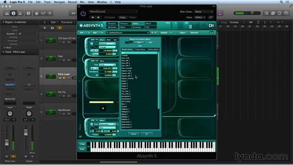 Waveshaping: Synthesis and Sampling with ABSYNTH