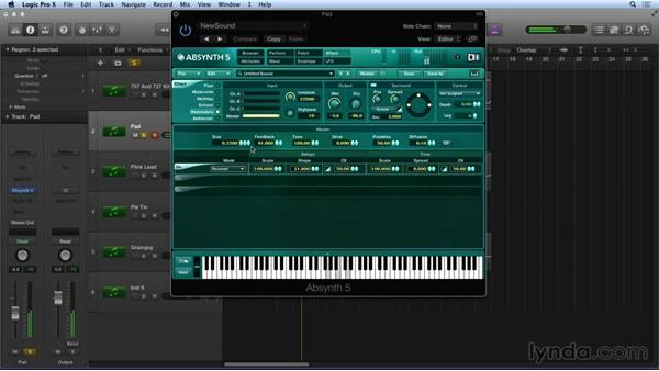 Master effects: Synthesis and Sampling with ABSYNTH