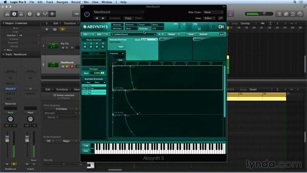 Envelope macros: Synthesis and Sampling with ABSYNTH