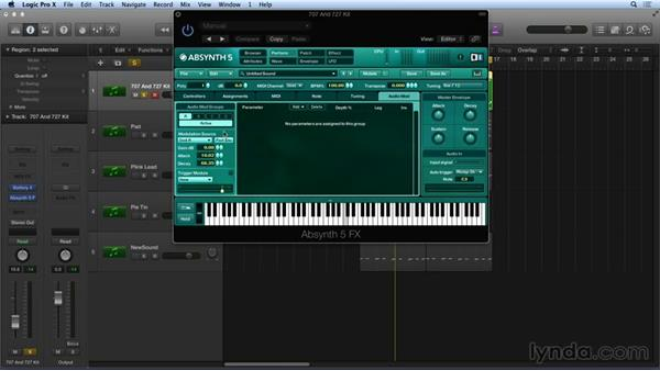 ABSYNTH effects and routing: Synthesis and Sampling with ABSYNTH