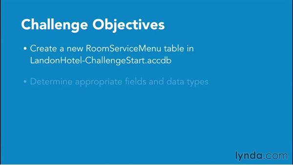 Challenges explained: Access 2016 Essential Training