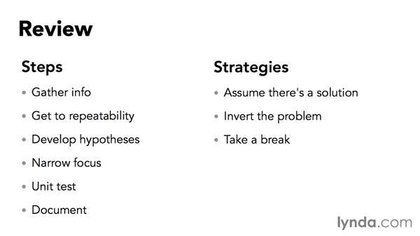 Next steps: Problem Solving for Web Professionals
