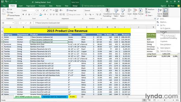 Using Excel Help: Excel 2016 Essential Training