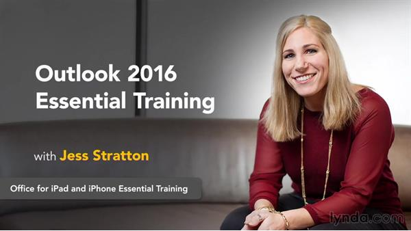 Next steps: Outlook 2016 Essential Training
