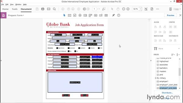 Verifying tab order: Advanced Accessible PDFs