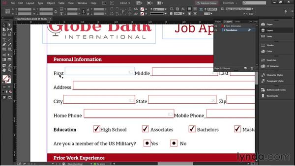 Achieving proper tag structure in InDesign: Advanced Accessible PDFs
