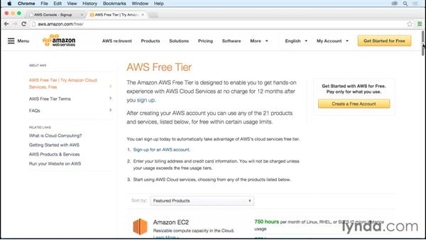 Setting up for Amazon Web Services: Fundamentals of Cloud Data Storage
