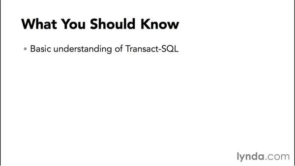 What you should know before watching this course: Installing and Administering Microsoft SQL Server 2014