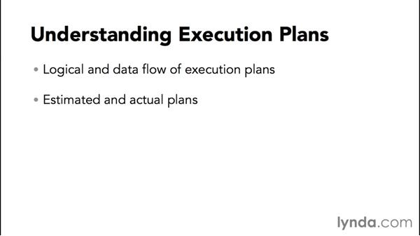 Understanding execution plans: Installing and Administering Microsoft SQL Server 2014