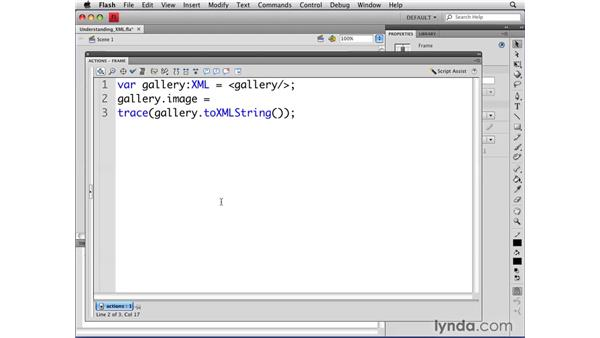 Understanding XML in ActionScript 3.0: Flash CS4 Professional: Object-Oriented Programming