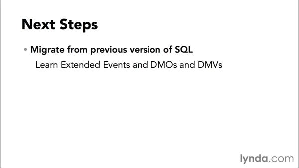 Next steps: Installing and Administering Microsoft SQL Server 2014