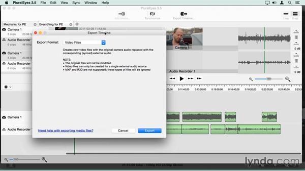 Sending sync clips back to Final Cut Pro X: Final Cut Pro X Guru: Sync Sound Workflow