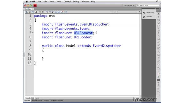 Defining the Model class: Flash CS4 Professional: Object-Oriented Programming
