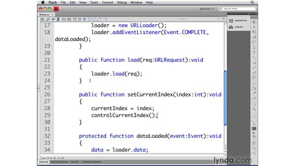 Setting values for properties: Flash CS4 Professional: Object-Oriented Programming