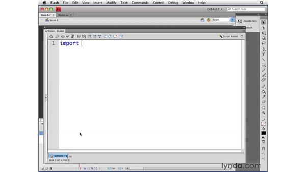 Dispatching events: Flash CS4 Professional: Object-Oriented Programming