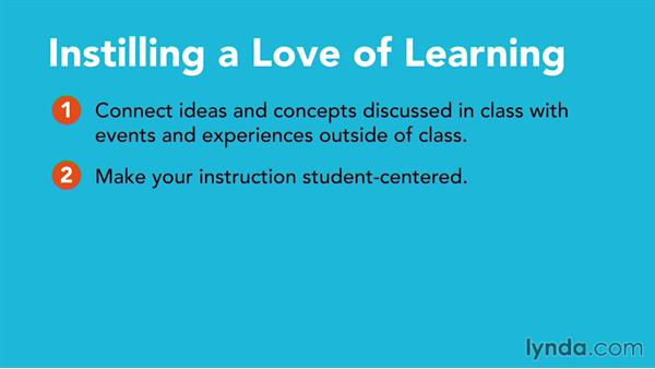 Teaching a love of learning: Core Strategies for Teaching in Higher Ed