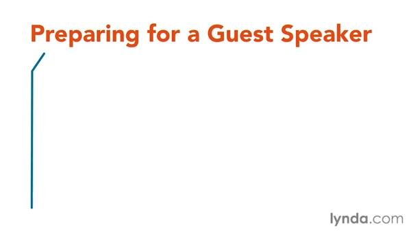 Inviting guest speakers: Core Strategies for Teaching in Higher Ed