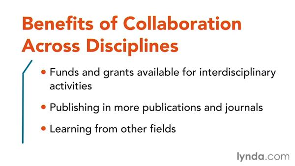Collaborating across disciplines: Core Strategies for Teaching in Higher Ed