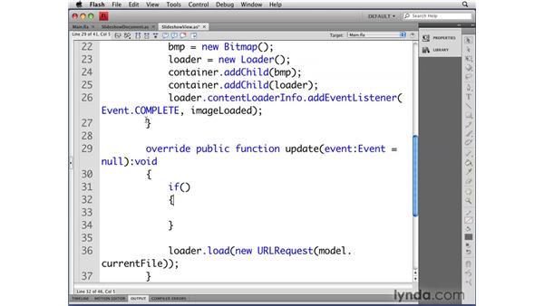 Optimizing image loading with bitmaps: Flash CS4 Professional: Object-Oriented Programming