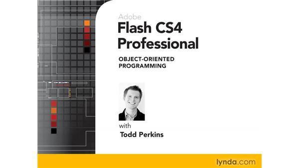 Goodbye: Flash CS4 Professional: Object-Oriented Programming
