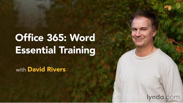 Next steps: Office 365: Word Essential Training