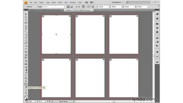 Changing the document setup: Illustrator CS4 One-on-One: Fundamentals