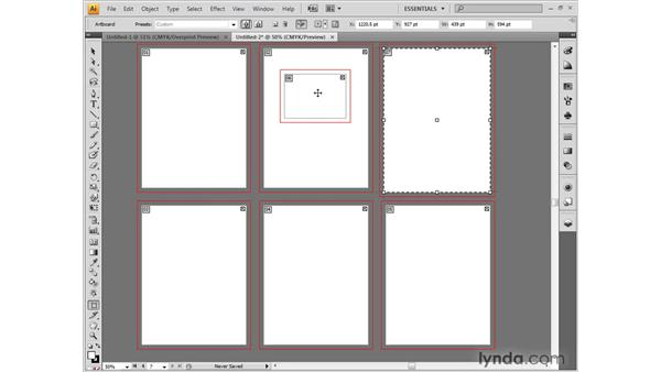 Special artboard controls: Illustrator CS4 One-on-One: Fundamentals